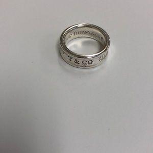 Tiffany &Co 1837 ring